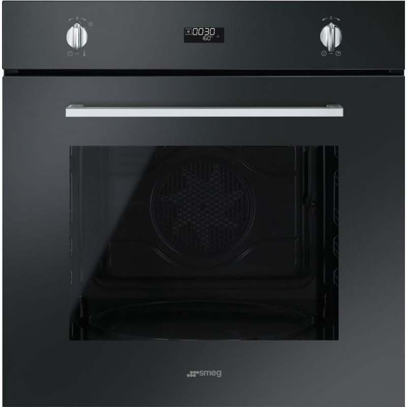Cuptor incorporabil Smeg Selezione SF485N, electric, multifunctional, 60cm, sticla antiamprenta