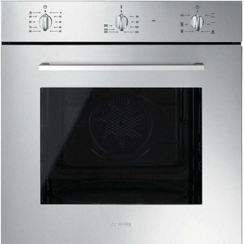 Cuptor incorporabil Smeg Elementi SF465X, electric, multifunctional, 60cm, inox antiamprenta