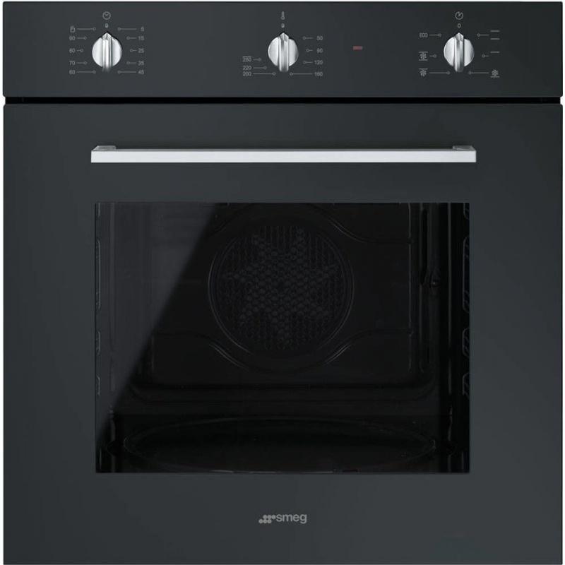 Cuptor incorporabil Smeg Elementi SF465N, electric, multifunctional, 60cm, negru