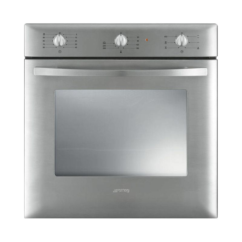 Cuptor incorporabil Smeg Contemporanea SF250X, electric, multifunctional, 60cm, inox antiamprenta