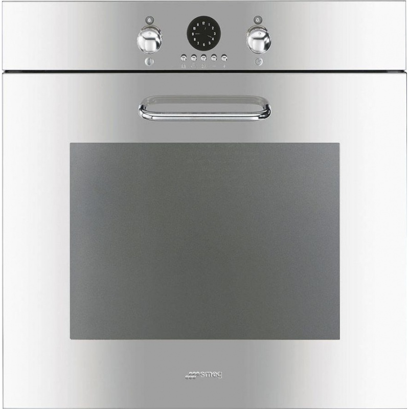 Cuptor incorporabil Smeg Evoluzione SF170X, electric, multifunctional, 60cm, inox lucios